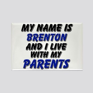 my name is brenton and I live with my parents Rect