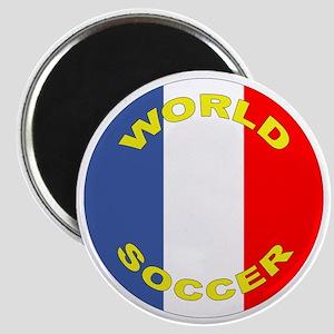 France World Cup Soccer Magnet