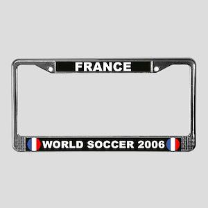 France World Cup Soccer License Plate Frame