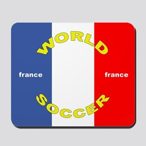 France World Cup Soccer Mousepad