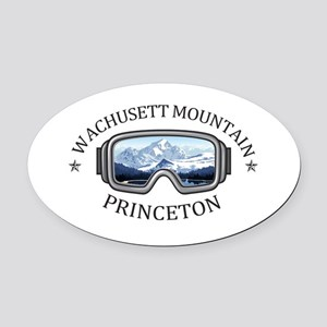 Wachusett Mountain - Princeton - Oval Car Magnet