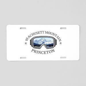 Wachusett Mountain - Prin Aluminum License Plate