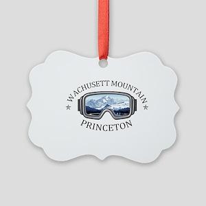 Wachusett Mountain - Princeton Picture Ornament