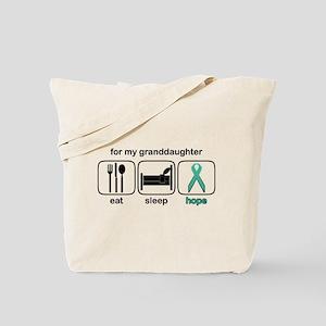 Granddaughter ESHope Ovarian Tote Bag