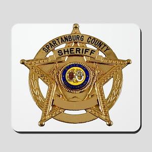 Spartanburg Sheriff Mousepad