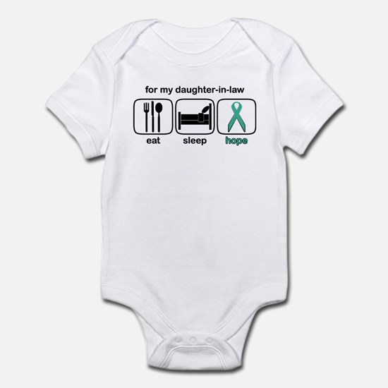 Daughter-in-law ESHope Ovarian Infant Bodysuit