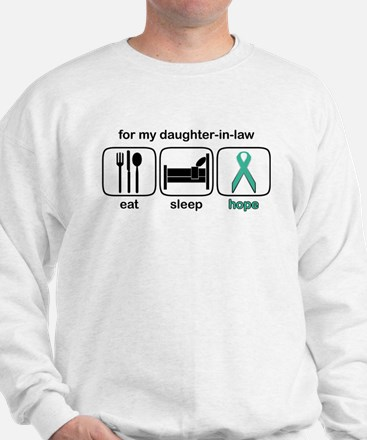 Daughter-in-law ESHope Ovarian Sweatshirt