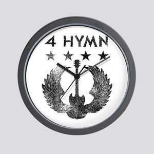 4 Hymn Tour Shirt Wall Clock