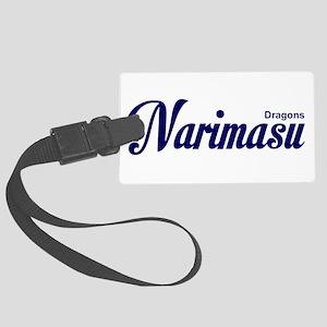 Narimasu,dragons,tachi,tachikawa Large Luggage Tag