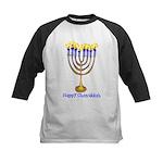 Happy Chanukkah Kids Baseball Jersey
