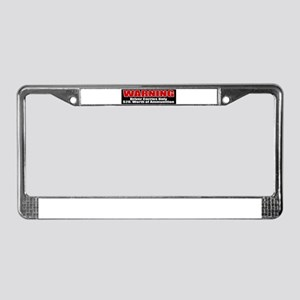 $20. Worth of Ammo License Plate Frame