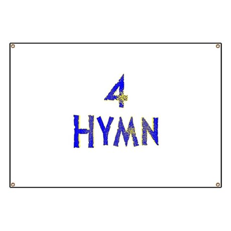 4 Hymn Band Banner by alienmatters