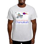 Out of this world Chanukkah Ash Grey T-Shirt