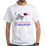 Out of this world Chanukkah White T-Shirt