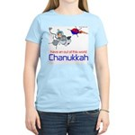 Out of this world Chanukkah Women's Pink T-Shirt