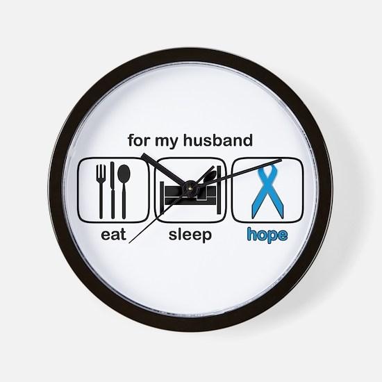 Husband ESHope Prostate Wall Clock