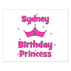 1st Birthday Princess Sydney! Posters