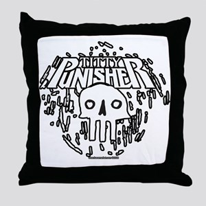 Titty Punisher Throw Pillow