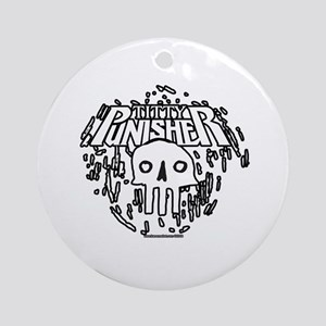 Titty Punisher Ornament (Round)