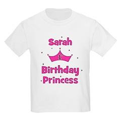 1st Birthday Princess Sarah! T-Shirt