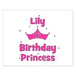 1st Birthday Princess Lily! Small Poster