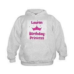 1st Birthday Princess Lauren! Hoodie