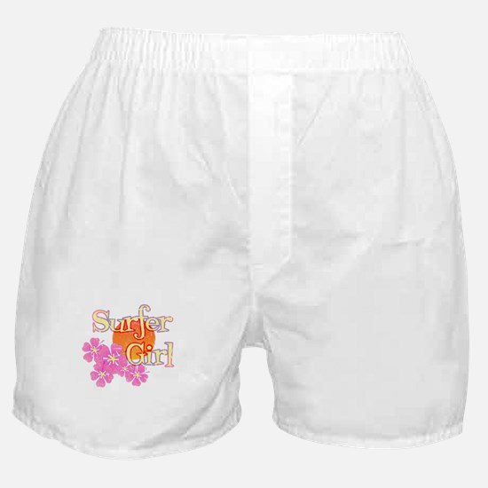 Little Surfer Girl Boxer Shorts