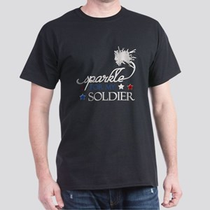 I Sparkle for my Soldier Dark T-Shirt