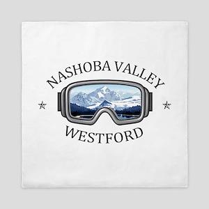 Nashoba Valley Ski Area - Westford - Queen Duvet
