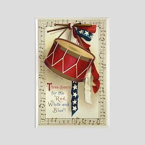 Vintage 4th of July Rectangle Magnet (10 pack)