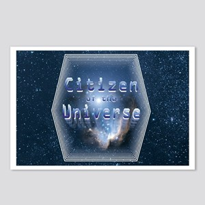 Citizen of the Universe Postcards (Package of 8)