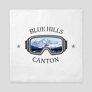 Blue Hills Ski Area - Canton - Massa Queen Duvet