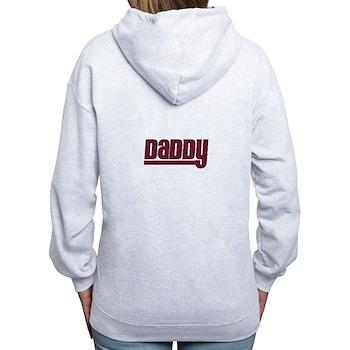 Daddy - Red Women's Zip Hoodie