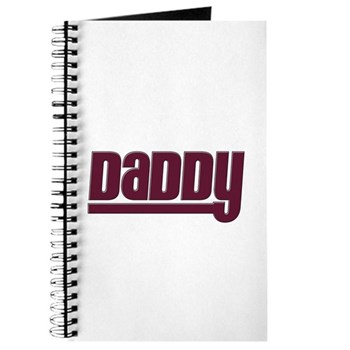 Daddy - Red Journal