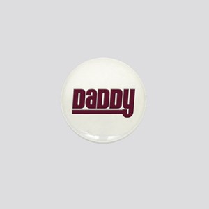 Daddy - Red Mini Button