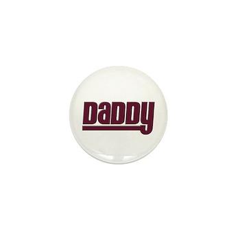 Daddy - Red Mini Button
