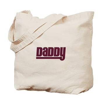 Daddy - Red Tote Bag