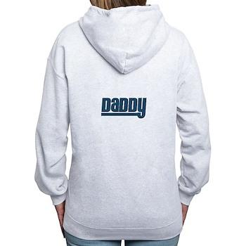 Daddy - Blue Women's Zip Hoodie