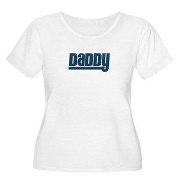 Daddy - Blue Women's Plus Size Scoop Neck T-Shirt