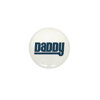 Daddy - Blue Mini Button