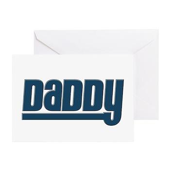 Daddy - Blue Greeting Card