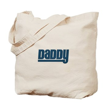 Daddy - Blue Tote Bag