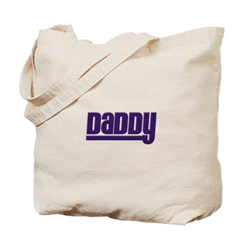 Daddy - Purple Tote Bag