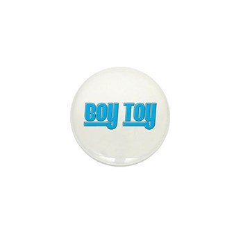 Boy Toy - Blue Mini Button (100 pack)
