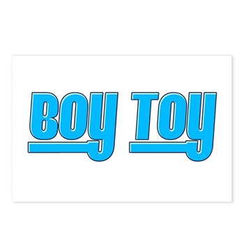 Boy Toy - Blue Postcards (Package of 8)