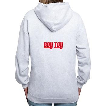 Boy Toy - Red Women's Zip Hoodie