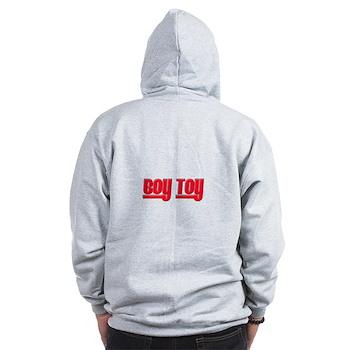 Boy Toy - Red Zip Hoodie