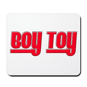Boy Toy - Red Mousepad