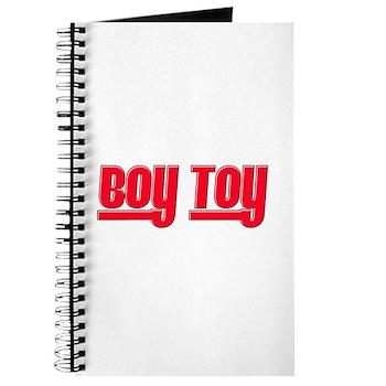 Boy Toy - Red Journal