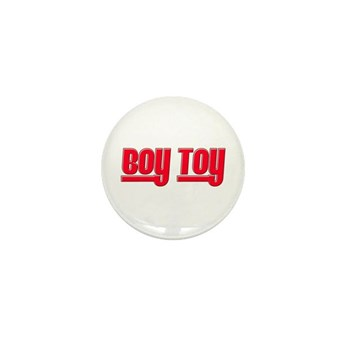 Boy Toy - Red Mini Button (100 pack)